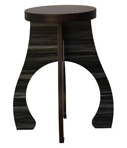 Stool wooden folding Garden Stool Round double Top Home Office Bar Small Table