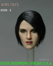 KIMI KT010 A 1/6 Female Head Sculpt Short Hair For Hot Toys Phicen Figure ❶USA❶