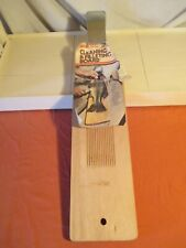 Vintage Sharp Fish Cleaning & Filleting Board Steel Power Jaw & V-Ribs w/papers