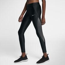 Women's NIKE POWER Speed Running Leggings XS  890329-010