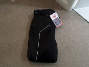 buffalo mens new large  Black motorcycle  trousers summer vented