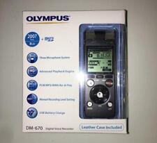 Grabadora de Voz Digital Olympus dm-670 8GB Negro Nuevo