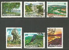 Angola 1987 Local Landscapes--Attractive Topical (746-51) fine used