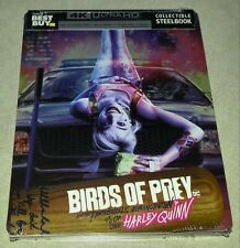 New Harley Quinn Birds of Prey 4K/Blu-ray/Digital Steelbook™ Bestbuy Exclusive