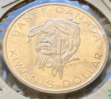 1971 Banff Alberta Trade Dollar $1 Token - Indian Days