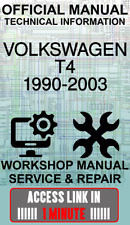 ACCESS LINK OFFICIAL WORKSHOP MANUAL SERVICE & REPAIR VOLKSWAGEN T4 1990-2003