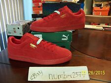 NEW Puma Red suede Ice red sole size 13 limited release yeezy