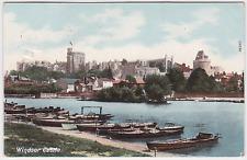 Old postcard of Windsor Castle