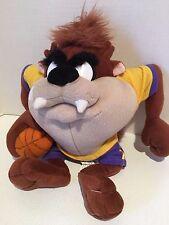"Looney Tunes Plush ~10"" BASKETBALL TAZ TAZMANIAN DEVIL NANCO Warner Bros. 2003"