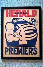 WEG 1981 Original Carlton Herald Weg poster. Professionally Framed.