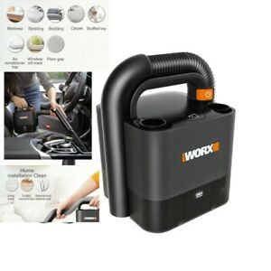 Worx Cordless Car/ Home Portable Vacuum Cleaner with 20V Battery & Fast Charger