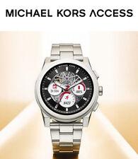 MICHAEL KORS 2018 Mens Access Grayson Smart Watch Touch Silver MKT5025 SALE! NEW