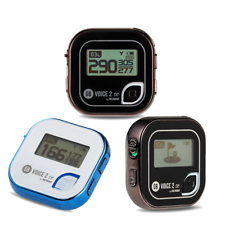 Golf Buddy voz 2 se hablando Telémetro Golf GPS-Negro o Azul