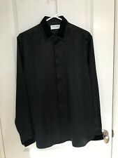Saint Laurent Silk Shirt in Black [Size 38] Made in Italy