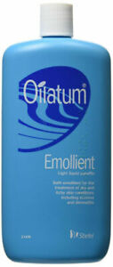 Oilatum Emollient Eczema and Dry Itchy Skin Bath Additive 500 ml FREE POSTAGE