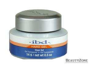 IBD HARD GEL Clear - 14g - 30 seconds under UV lamp