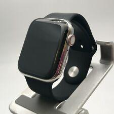 Apple Watch Series 6 Silver Cellular Stainless Steel 44mm + Black Sport 9/10