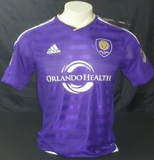 Adidas Orlando City SC Authentic Home Jersey, Purple/White Size M