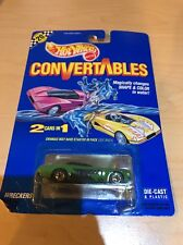 Hot Wheels 1:64 Convertibles 2 Cars In 1 Wreckers Fab Cab Taxi New Mint