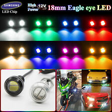 Lots Motor Car 9W Eagle Eye 18MM LED Daytime Running DRL Tail Backup Light Bulbs
