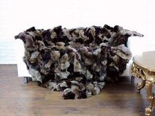 Couvertures en fourrure pour le lit 200 cm x 200 cm