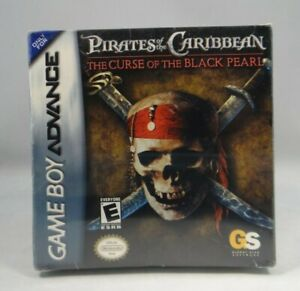Pirates of the Caribbean:The Curse of the Black Pearl (Nintendo GB Advance,2003)