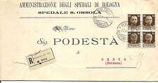 P8092   Bologna Succursale 13, annullo su piego amm. diretto a Cento (Fe) 1934