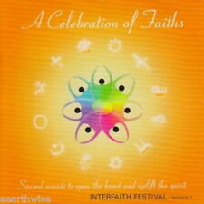 CD: A CELEBRATION OF FAITHS Wicca Witch Pagan Goth OPEN HEARTS &  UPLIFT SPIRITS