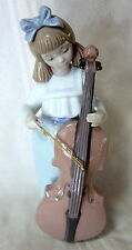NEW NAO BY LLADRO GIRL WITH CELLO BRAND NEW IN BOX #1879 MUSIC INSTRUMENT F/SH