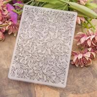 Flower DIY Embossing Folder Plastic Template Die Cutting Scrapbooking Album Card