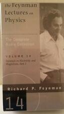 The Feynman Lectures on Physics Richard Feynman Vol 14 6×CASSETTE Box SEALED!