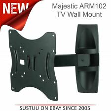 "Majestic ARM102 Single Swing ARM Lockable DEL TV Wall Mount Bracket│23""-42"" TVs"