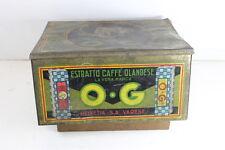 scatola in Latta O.G. estratto caffè olandese 1900  coffèè Tin Box