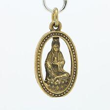 Thai Buddha amulet pendant Guan Yin goddess of compassion.