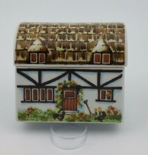 I.W. RICE & CO. INC IRICE IMPORT COUNTRY HOME COTTAGE TRINKET BOX PORCELAIN