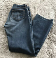 Genuine Red Engine Vintage Medium Wash High Waist Straight Leg Jeans Women's 29