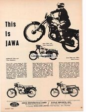 1964 Vespa 50 Motor Scooter Cowboy Riding art Vtg Print Ad