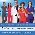 Infectious Nursing & Medical Scrubs