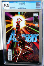 Avengers (2010) #12 Iron Man Infinity Gauntlet CGC NM 9.4 White Pages 3802491010