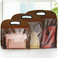 Handbag Dust Cover Leather Bag Protector Hang Storage Pouch Closet Organizer Hot