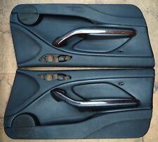 BMW Front Door Trim/Cards E46 Coupe Convertible Black