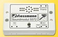 Viessmann 5572 Módulo de Sonido Motosierra con Control para Bewegungssynchrone