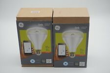 2 GE Link Connected Smart Light Bulb Dimmable NEW SEALED Zigbee LED 650 lm BR30