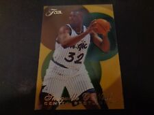 Shaquille O'NEAL 1995-96 FLAIR center spotlight #5 insert carte NM/M état