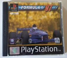 Formula 1 97 - PlayStation 1 PS1 - PAL - Complet