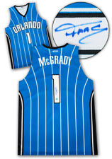 Tracy McGrady Orlando Magic Autographed Athletic Knit Custom Basketball Jersey