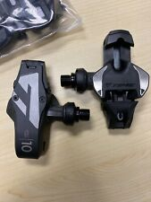 Time XPRO 10 Pedals - Single Sided Clipless Carbon 9/16 Black - CLEATS INCLUDED