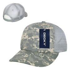 ACU Camo US Army Camouflage Foam Mesh 5 Panel Military Trucker Baseball Cap Hat