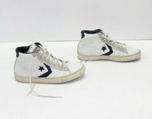 CONVERSE ALL STAR CONS Bianche Alte EUR 37.5 UK 4.5 Mens 5 usate (COD.DPS1019)