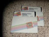 "Personal Finance Manager Apple II Program on 5.25"" disks"